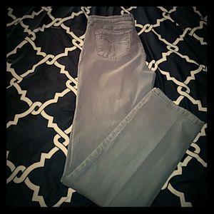 Light charcoal color jeans